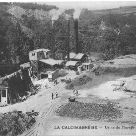 Floreffe – rue Emile Lessire – carrière d'extraction de dolomie
