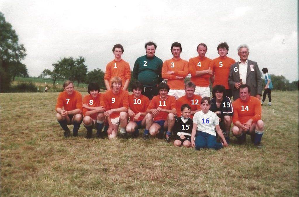 Floreffe – Buzet – kermesse de juillet 1980 – football