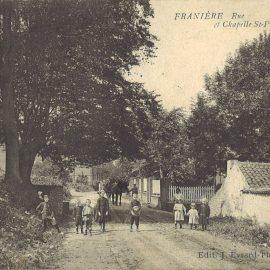 Franière – rue de Floreffe – chapelle Saint-Pierre