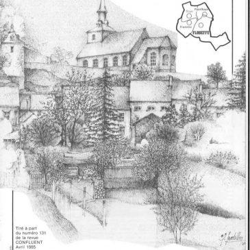 Confluent avril 1985 : Floreffe, la nostalgie du temps des cerises
