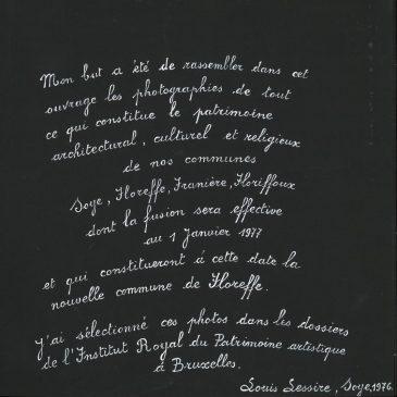Album souvenir de Louis Lessire