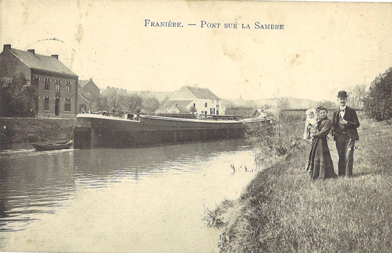 Franière – rue de Soye – pont sur la Sambre