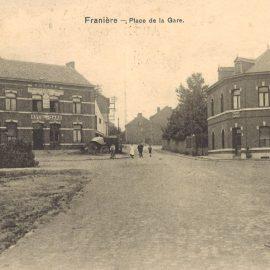 Franière – place de la gare et rue de Deminche