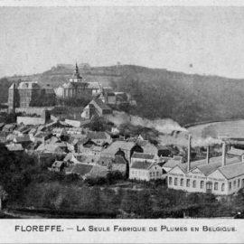 Floreffe – rue Célestin Hastir – la manufacture de plumes