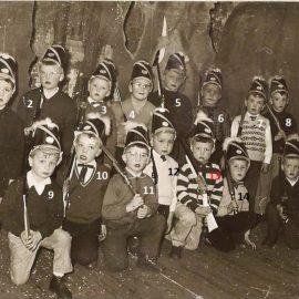 Floreffe – Avenue Charles de Gaulle – école primaire libre – fête scolaire – 1962