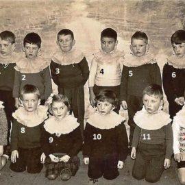 Floreffe – Avenue Charles de Gaulle – école primaire libre – fête scolaire – vers 1964-1965