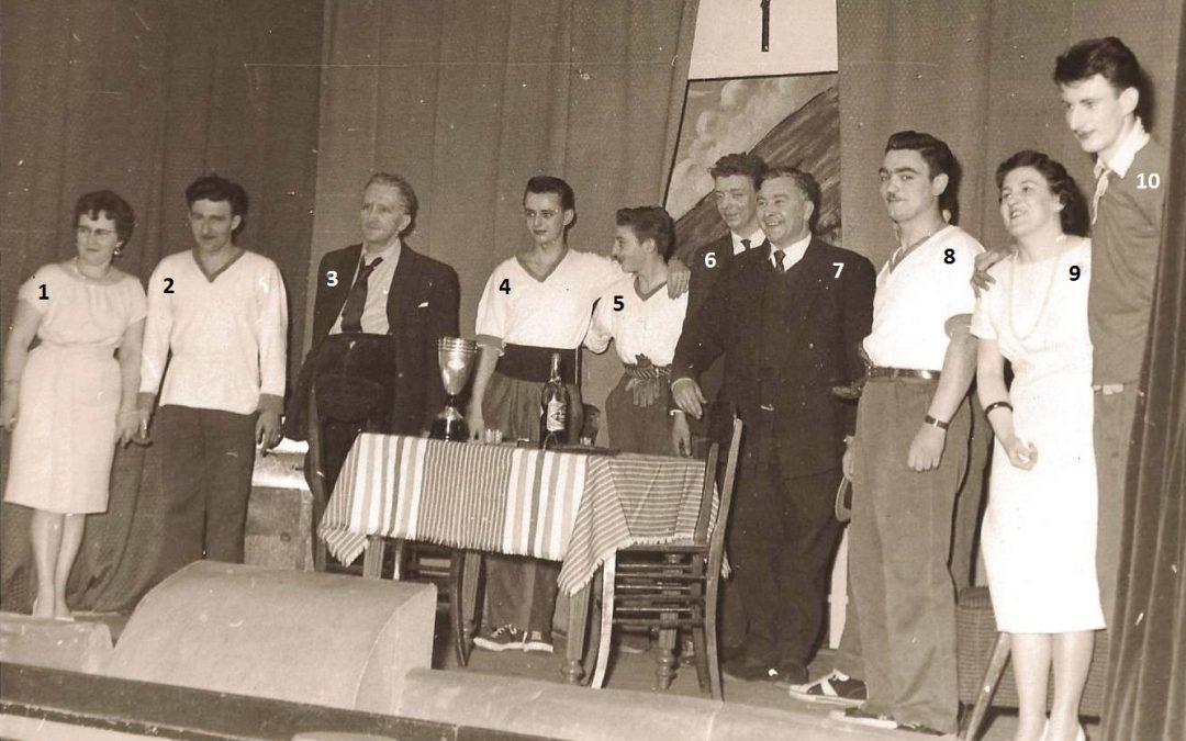 Floreffe – théâtre – troupe paroissiale – Li p'tit mitan – 1960