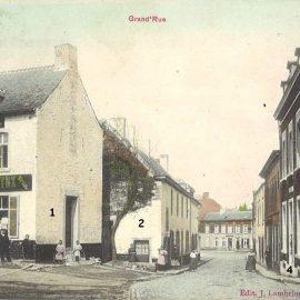 Floreffe – rue Auguste Renard – place du Vieux moulin