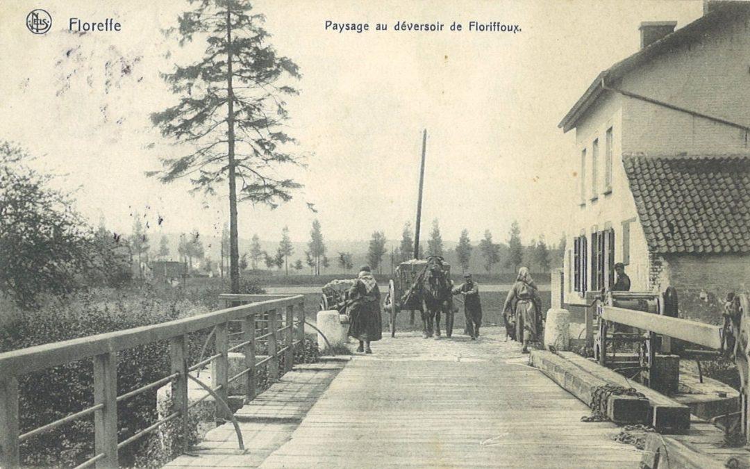 Floriffoux – rues de l'Ecluse et Sous-la-Ville – le déversoir