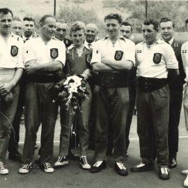 Floreffe – balle pelote – équipe championne de provinciale – 1964