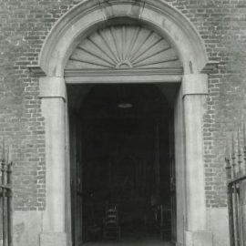 Soye – Allée verte – église Saint-Amand