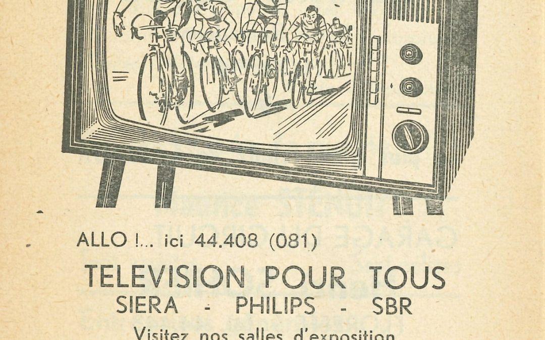 Floreffe – rue Célestin Hastir – marchand de téléviseurs Namêche-Laude