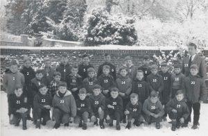 Floriffoux – école primaire communale garçons – 1963 n°