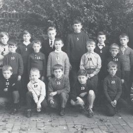 Floriffoux – école primaire communale – classes de 1965