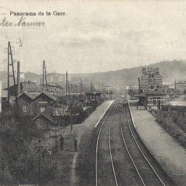 Franière – panorama de la gare