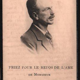 Floriffoux – souvenirs mortuaires – les patronymes DEBUISSON