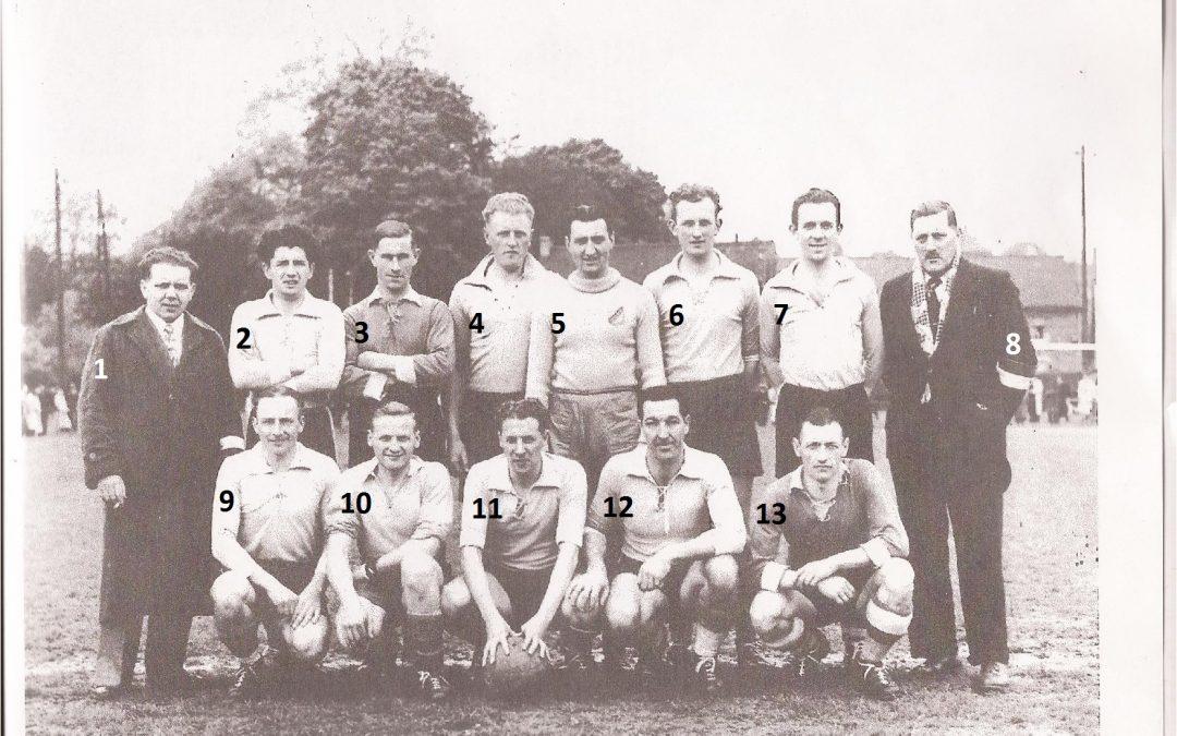 Floreffe – football – 1ère provinciale – saison 1945-1946