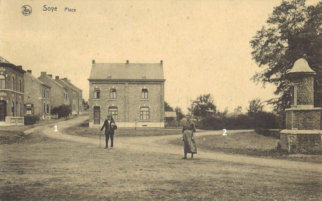 Soye – rues de Spy et Saint-Amand