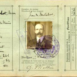 Floriffoux  – carte d'identité – Jean de DORLODOT