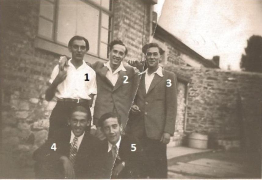 Floreffois sur la place du Malpas à Malonne – 24 août 1947