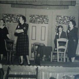 Franière – théâtre – La concierge est dans les étages – 25 novembre 1951