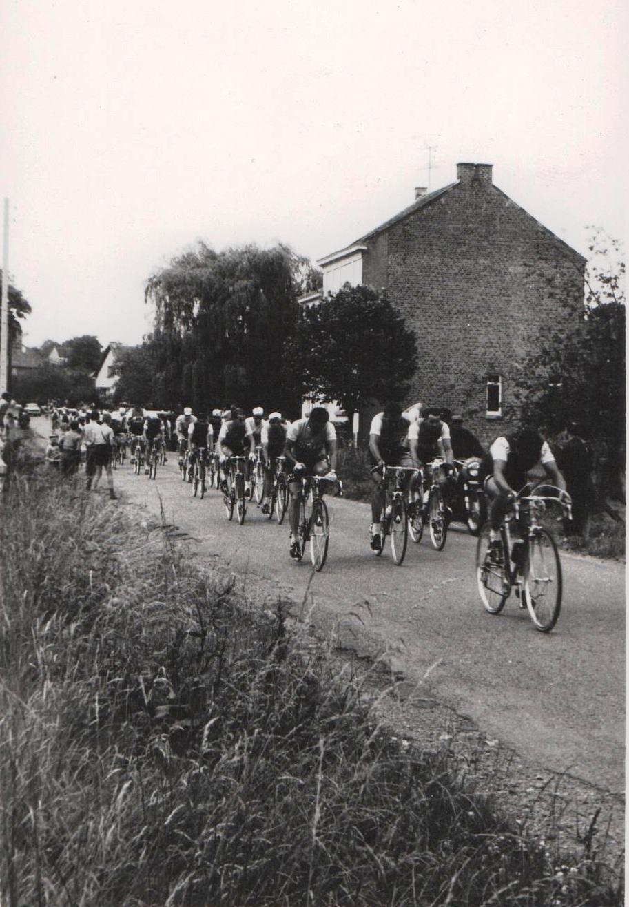 Soye  – cyclisme – passage du Tour de France – 1967