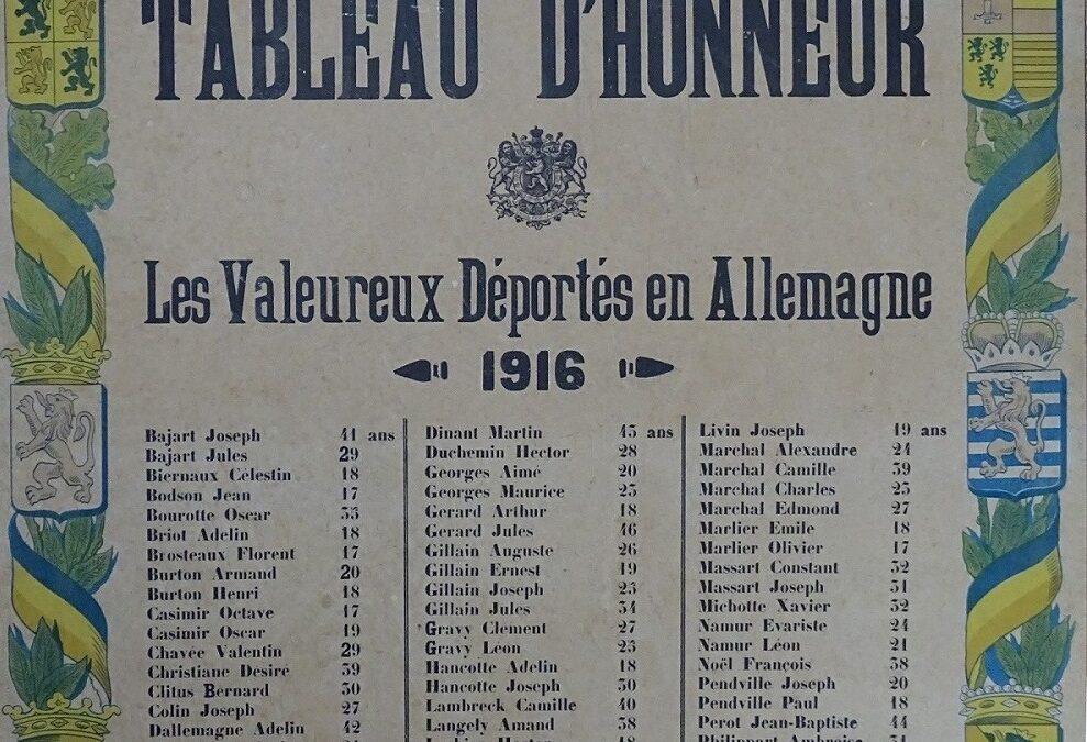 Soye – guerre 14-18 – déportés – commémoration – 1919