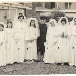 Floreffe – communion solennelle des filles – 1965