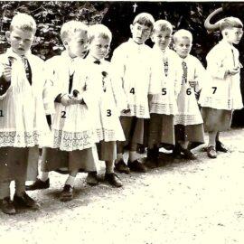 Floreffe – procession religieuse – juin 1962