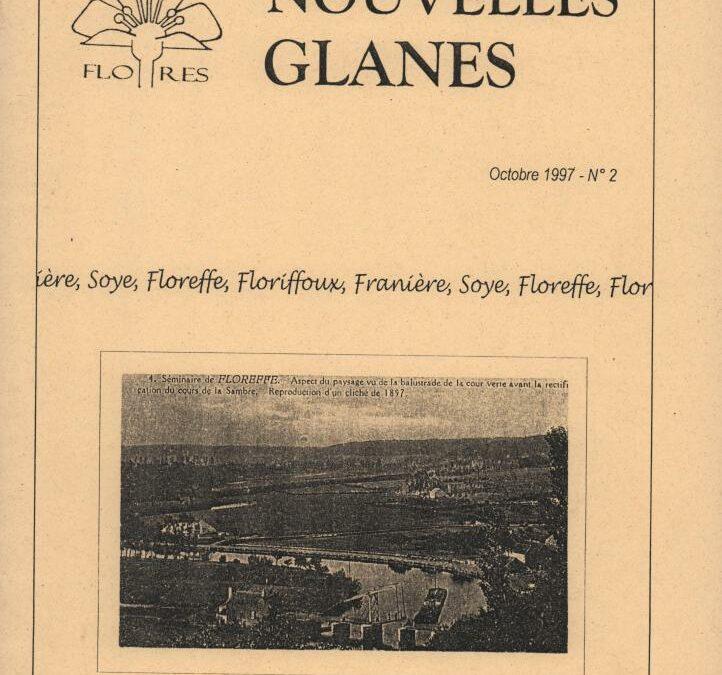 Floreffe – nouvelles glanes – octobre 1997 – n°2