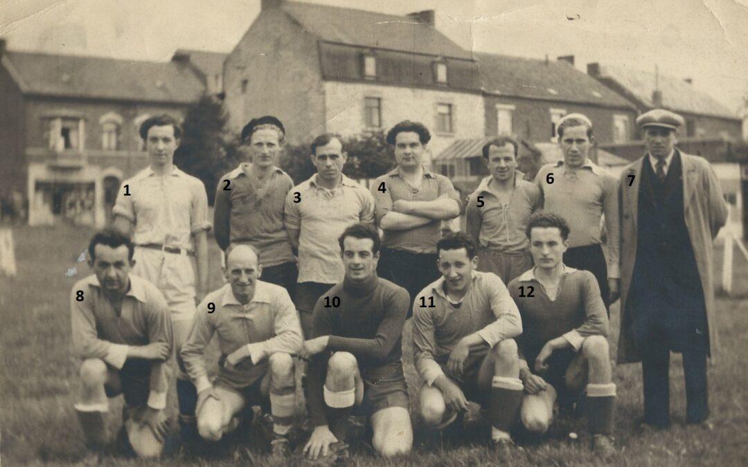 Floreffe – football – division II provinciale – équipe réserve – saison 1947-1948