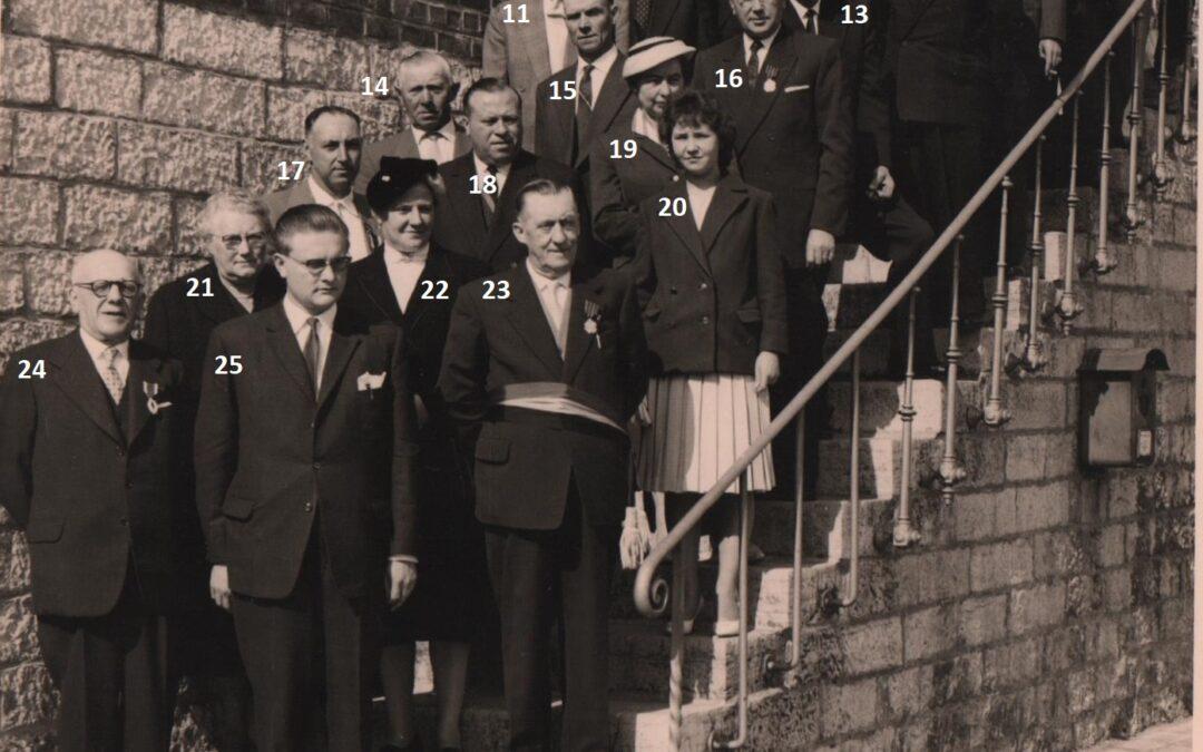 Franière – remise de décorations civiles – 20 septembre 1959