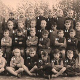 Franière – école primaire communale – classe de 1953 ou 1954