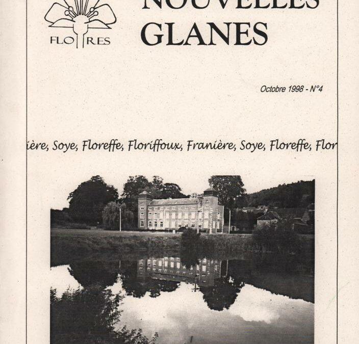Floreffe – nouvelles glanes – octobre 1998 – n°4