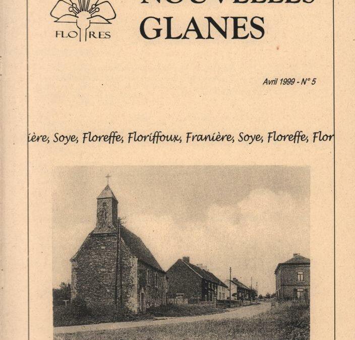 Floreffe – nouvelles glanes – avril 1999 – n°5