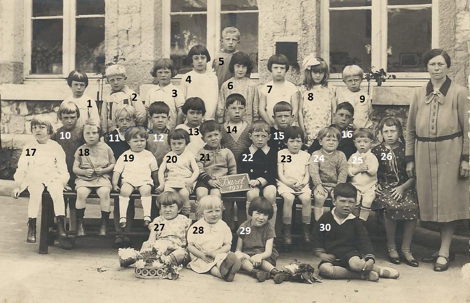 Floreffe – Buzet – école maternelle communale – 1931