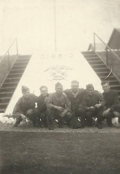 Franière – Guerre 40-45- Un dépôt américain à la glacerie