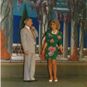 Dans « La Route Fleurie  avec la fantaisiste Patricia Van Acker