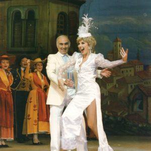 En charmante compagnie avec la fantaisiste Patricia Van Acker dans « Méditerranée » et « La Route Fleurie »