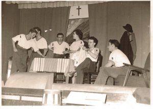 Floreffe  – Théätre – Troupe paroissiale – Li p'tit mitan – 1960