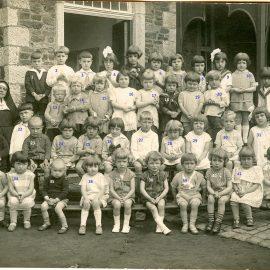 Floreffe – rue de Dorlodot – école maternelle libre – classes de Soeur Elisabeth – 1928