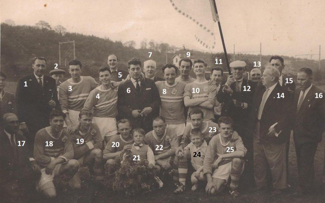 Floreffe – football – équipe de 2ème provinciale – mai 1960