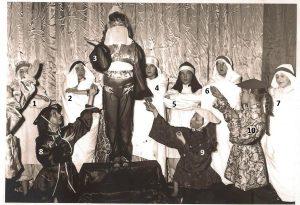 Floreffe – Spectacle de fin d'année – Sur un marché persan – 1965 – 1966
