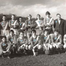 Floreffe – football – équipe de 3ème provinciale – saison 1970/1971