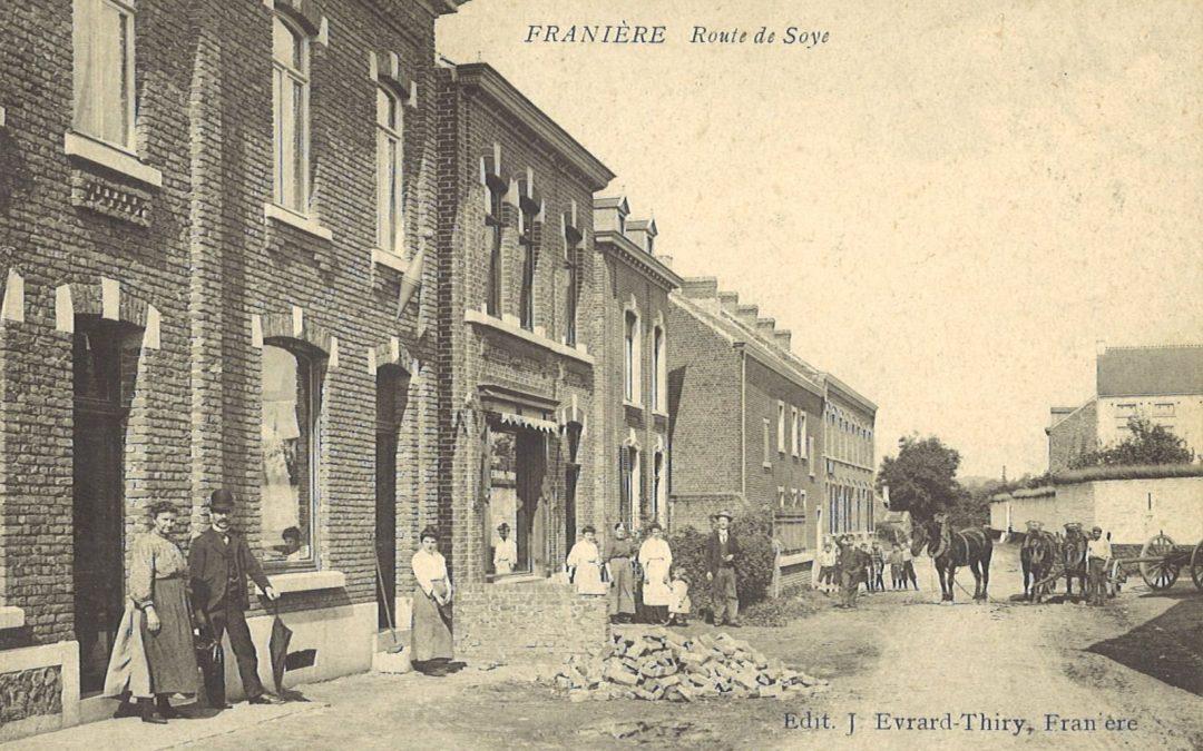 Franière – rue de Soye – imprimerie EVRARD
