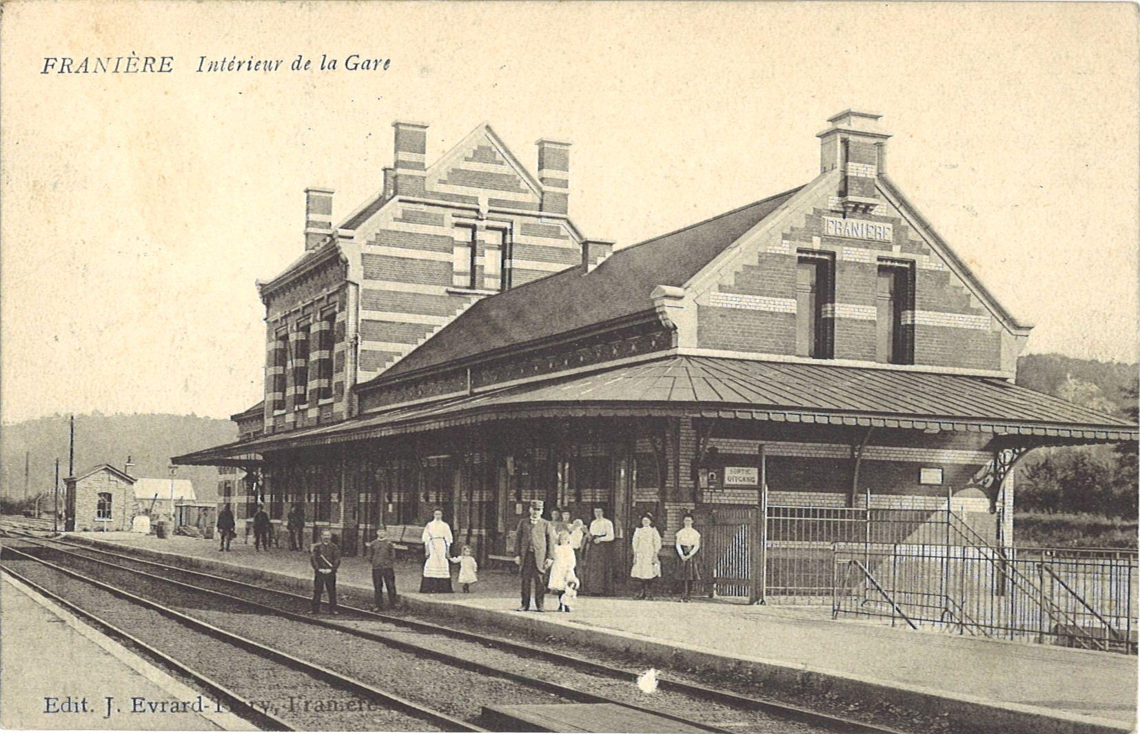 Franière – la gare