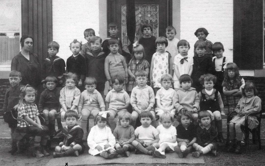 Floreffe – Rue Joseph Piret – école maternelle communale – classe de 1928