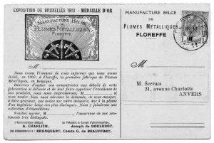 Floreffe – Plumerie – Carte postale