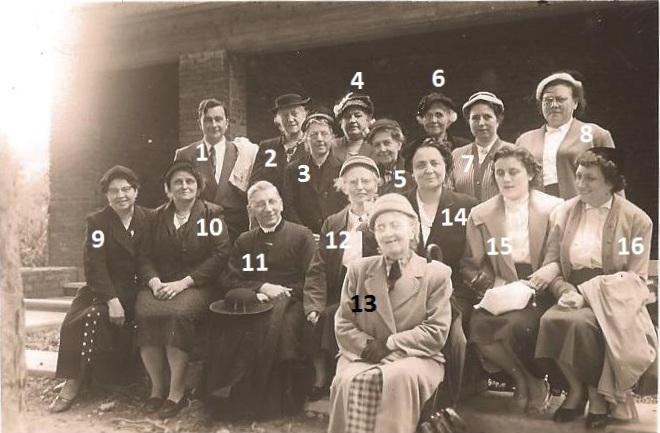 Floreffe – pèlerinage à Beauraing – 1956