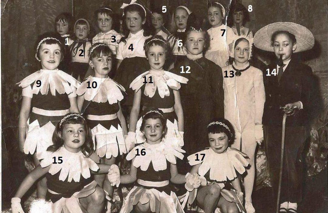 Floreffe – école primaire libre – fête scolaire – année 1963 / 1964